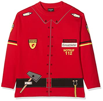 ccdc5dabd733 COP Pull Sweat Shirt Motif Pompier 8 Ans Rouge - Rouge  Amazon.fr ...