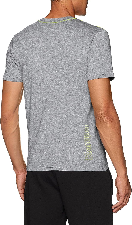 Hombre Kempa Caution T-Shirt Camiseta Casual Manga Corta