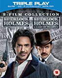 Sherlock Holmes and Sherlock Holmes: A Game of Shadows  - 2 Film Collection [Blu-ray] [2009] [Region Free]