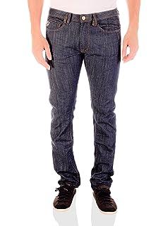 9f12fd71a29 Lois Jeans Hombre Pantalones de Pana Sierra Fina, Azul: Amazon.es ...
