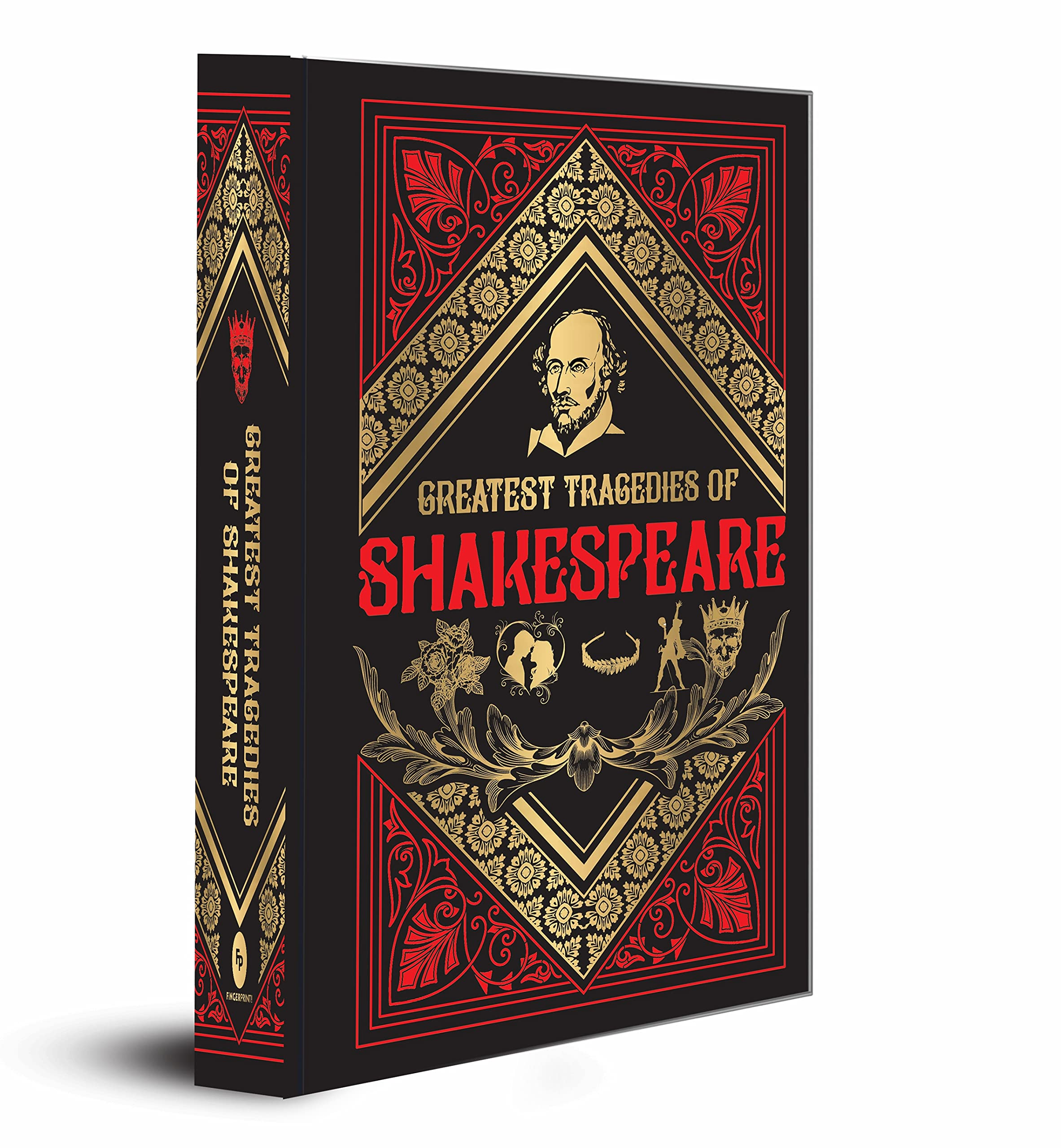 Greatest Tragedies of Shakespeare (Deluxe Hardbound Edition)