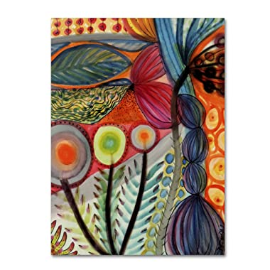 Vivaces by Sylvie Demers Wall Hanging, 35  x 47  Canvas Wall Art