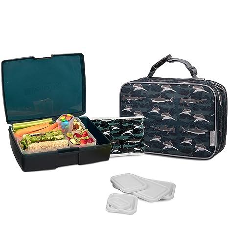 Amazon.com: bentology bolsa de almuerzo y Box Set para niños ...