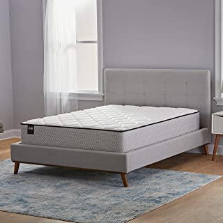 product image for Sealy 12-Inch Encased Coil Innerspring Bed in a Box, Queen