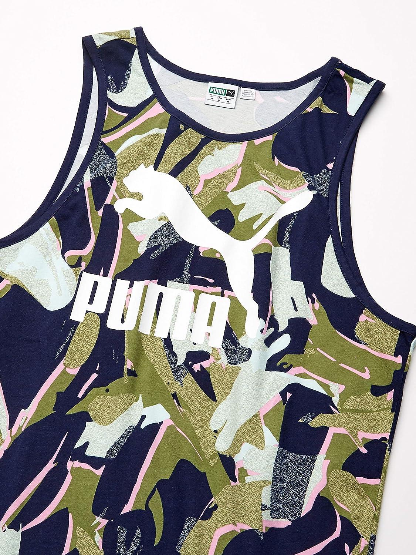 PUMA Mens Classics Tank All Over Print
