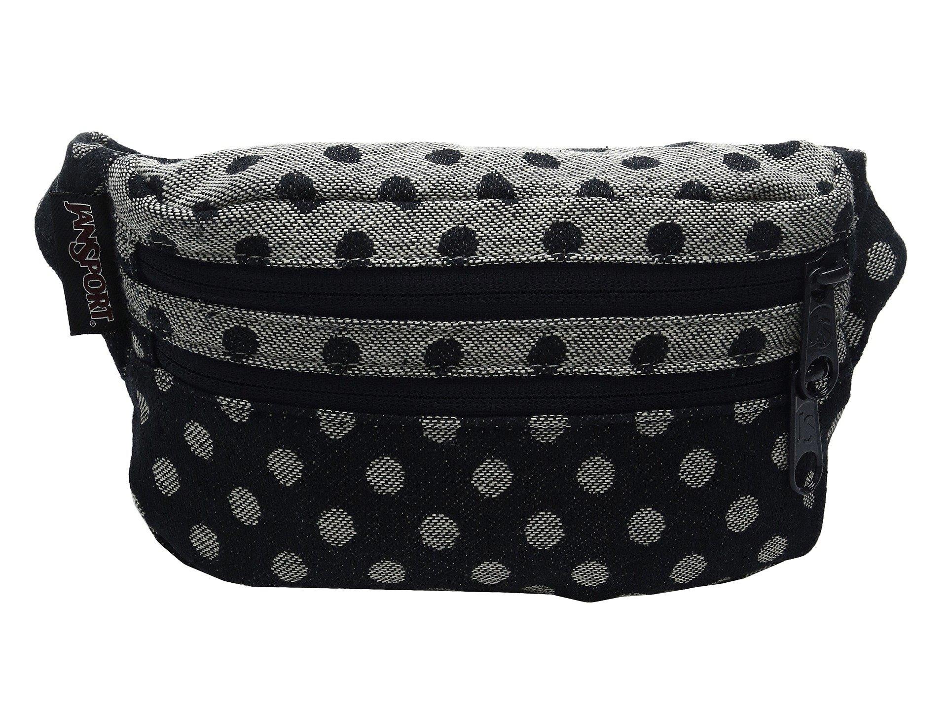 JanSport Unisex Hippyland Navy Twiggy Dot Jacquard Backpack