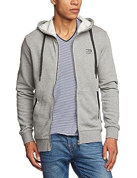 Jack & Jones Kapuzenjacke Slider Sweat Zip Hood NOOS - Prenda, color gris claro,
