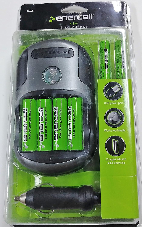 Amazon.com: Enercell 1 A 2 Hour Cargador de batería 23 – 787 ...