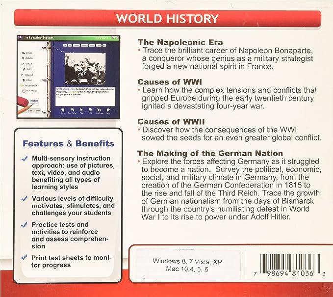 World History (Win/Mac) (Jewel Case): Amazon in: Software