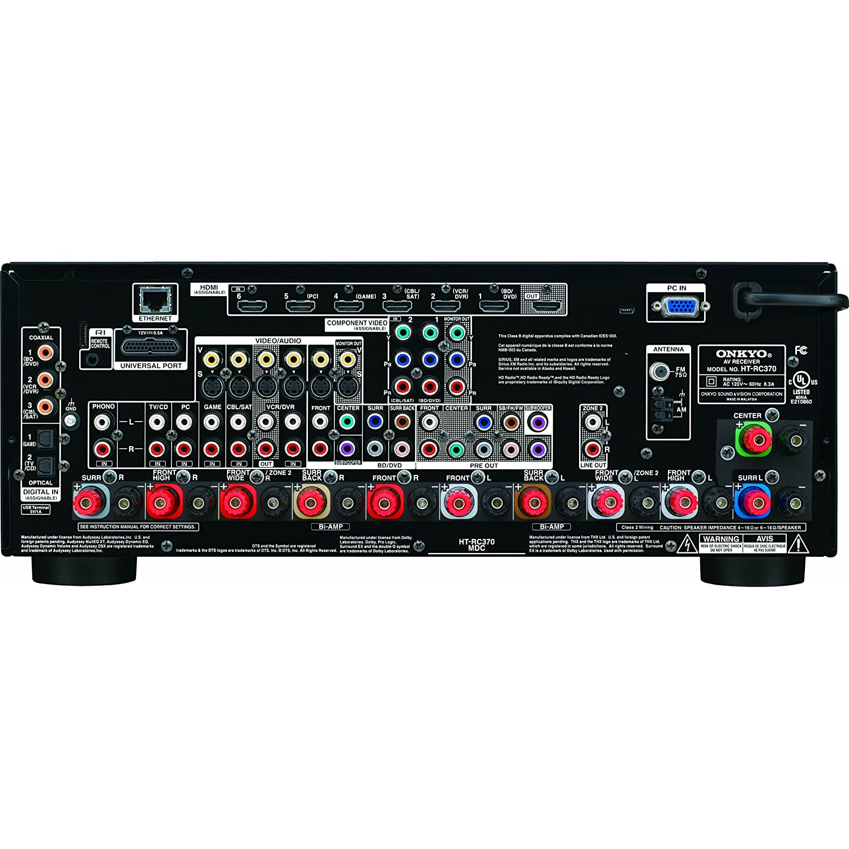 Amazon Com Onkyo Ht Rc360 7 2 Channel Network Audio Video