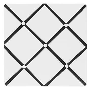 Amazon.com: Sweet diseños Jojo Blanco y Negro Hotel tela ...