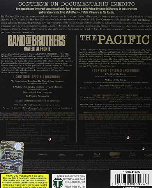 Band of brothers + The pacific [Italia] [Blu-ray]: Amazon.es ...