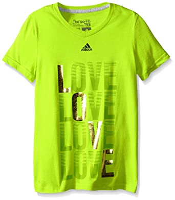 Adidas Big Girls  Short Sleeve Graphic Tee 289c45a00
