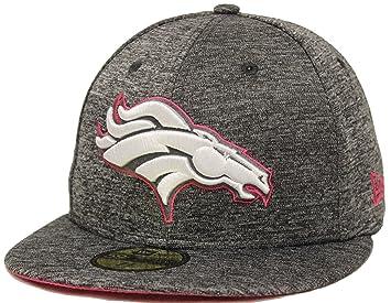 best service 8ccc1 92a1c New Era 59Fifty NFL16 BCA Denver Broncos Gray Fitted Cap (7 1 2)