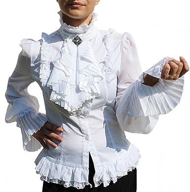 online store 03dc0 458db RQ-BL - Camicia - stile impero - Basic - Collo mao - Maniche ...