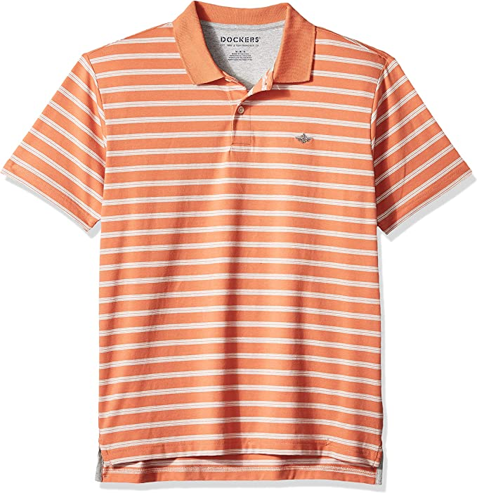 Dockers Performance Polo de Manga Corta para Hombre: Amazon.es ...