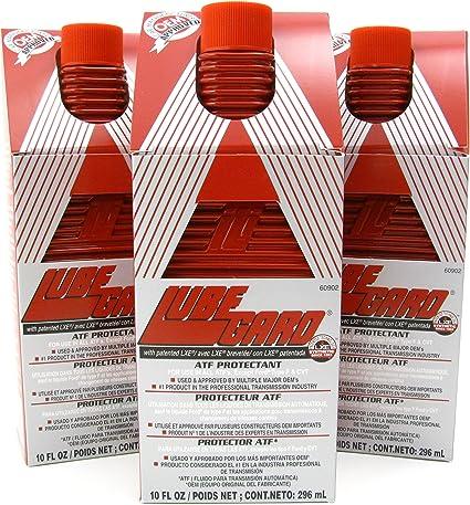 lubegard Lube Gard Fluido de transmisión automática ATF sintético aditivo Rojo 60902 Pack de 3: Amazon.es: Coche y moto