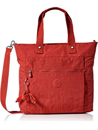 Kipling Lizzie Laptop Tote Bag, Removable, Adjustable Crossbody Strap, Zip Closure