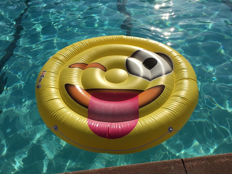 Giant Pool Floatie Emoji Pool Toy Everything Emoji Emoji Pool Floats for Adults and Children
