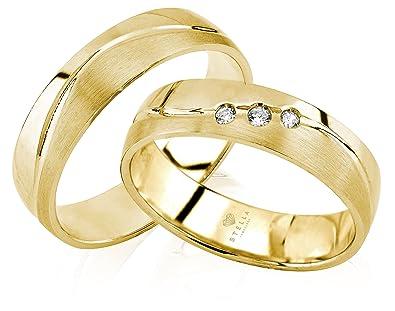 Silber 2 Trauringe Verlobungsringe Hochzeitsringe Ringe Gratis Gravur Etui Und Versand