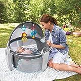 "31.5"" L x 30"" W x 28"" H Fisher-Price On-the-Go Baby Dome in Bubbles"