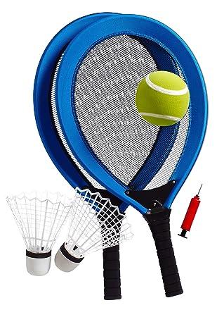 Jumbo de tenis de Set consiste en dos Jumbo de tenis Raquetas, un ...