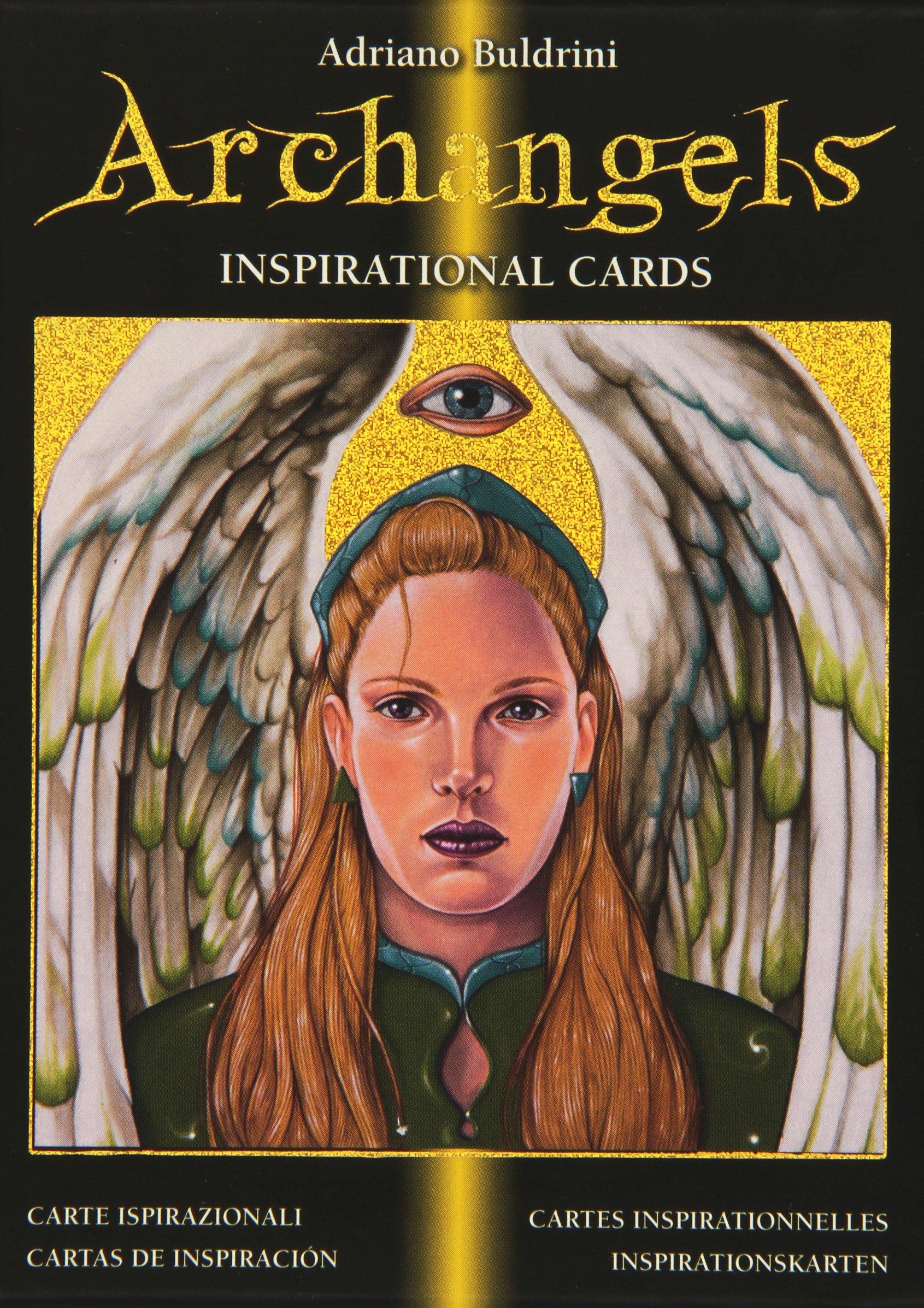 Archangels Oracle Cards Broché – 15 février 2013 Adriano Buldrini Lo Scarabeo 8865271442 9788865271445shpgf