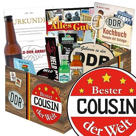 Bester Cousin Ddr Manner Paket Geburtstag Geschenk Beste Cousine