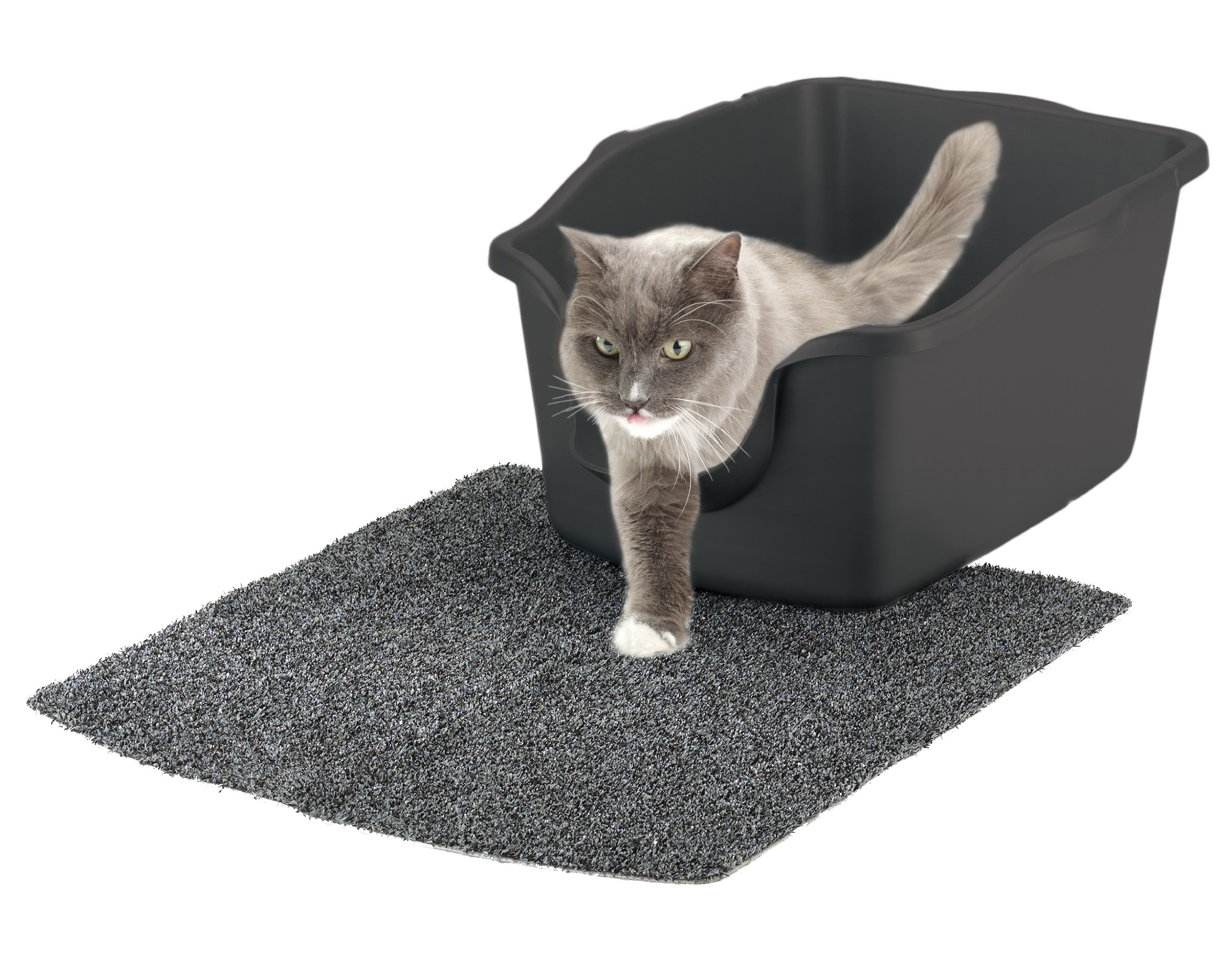 Nature's Miracle High-Sided Litter Box, 23 x 18.5 x 11 inches by Nature's Miracle