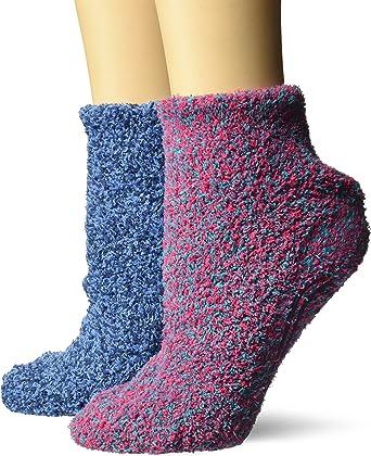 Womens Soothing Spa Low Cut Lavender + Vitamin E Socks