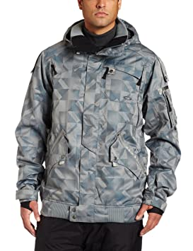 Oakley Hombre ampiler chaqueta, hombre, N Grey/Blue