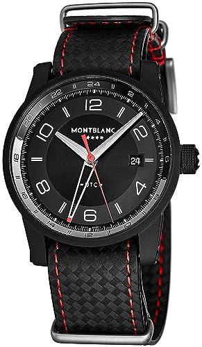 Montblanc Reloj de Hombre automático 42mm Correa de Piel de Ternero 115360: Amazon.es: Relojes
