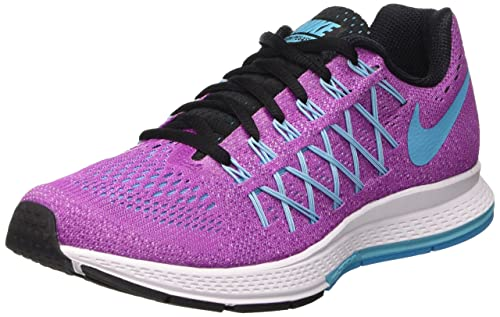 newest collection 4f532 05ccf Nike Wmns Air Zoom Pegasus 32, Scarpe da Ginnastica Donna, Viola (Hyper  Violet
