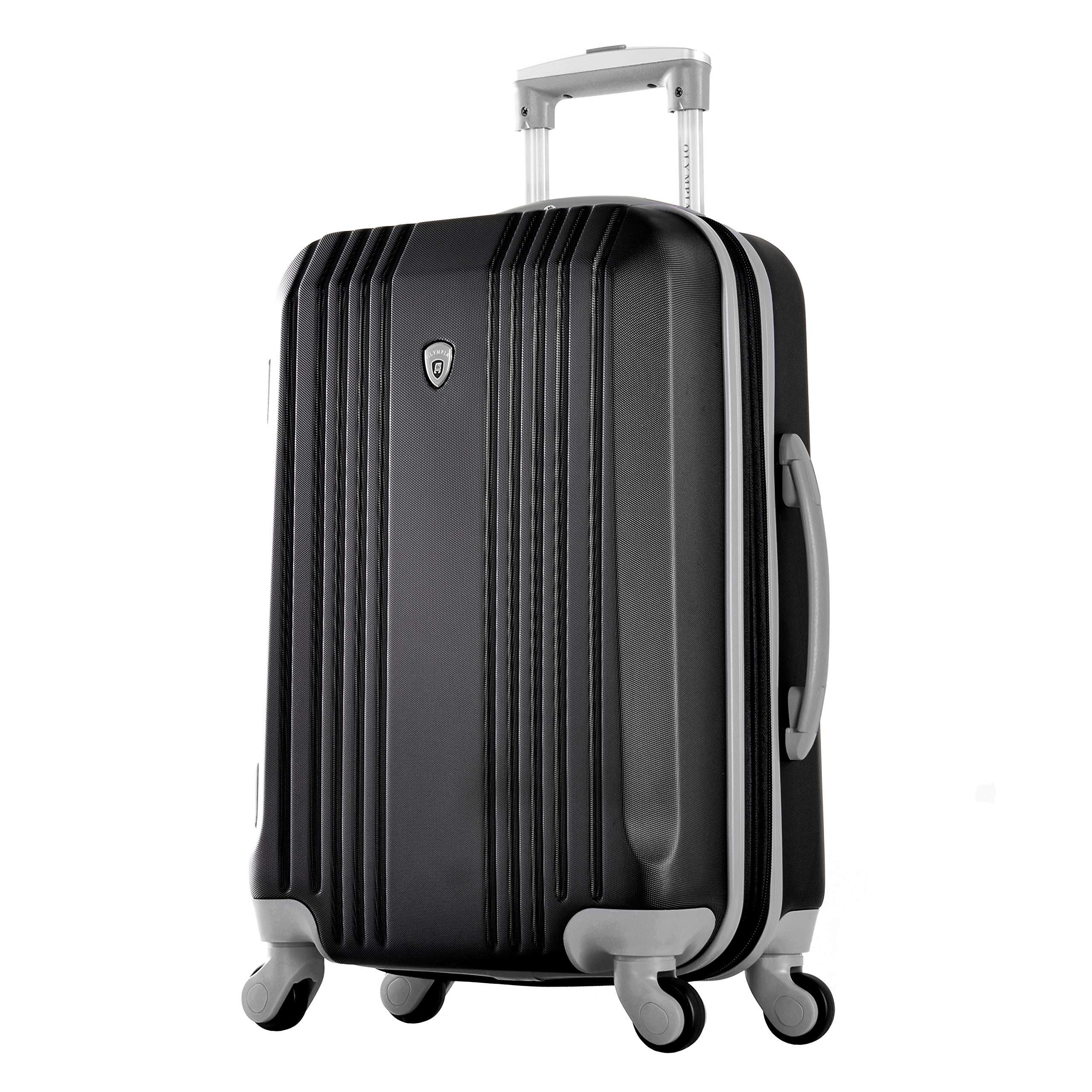 Olympia Apache Ii 21'' Carry-on Spinner, BLACK+GRAY