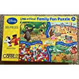 Disney Classics Look and Find, Family Fun 300pc Puzzle