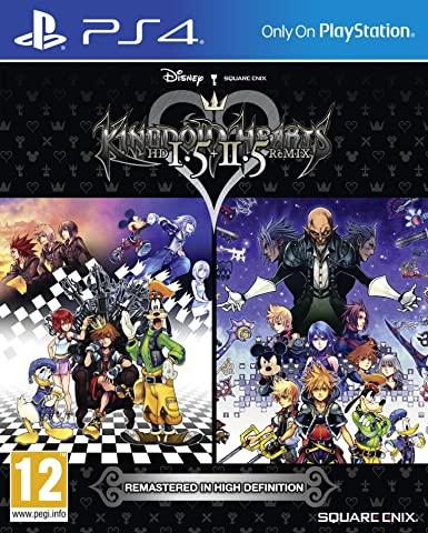 Kingdom Hearts Hd 1.5 + 2.5 Remix: Amazon.es: Videojuegos