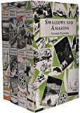 Swallows and Amazons Series Collection Series 4 Books (Winter Holiday, Peter Duck, Swallowdale, Swallows and Amazons…