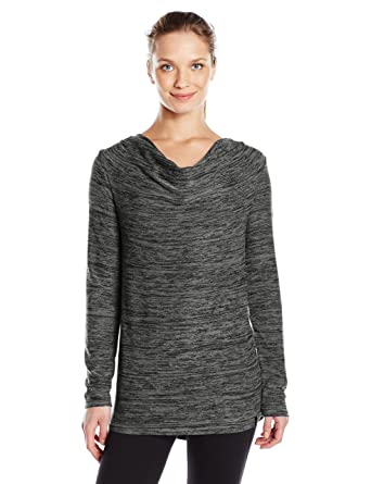 Marc New York Performance Women s Marc Ny Performance Long Sleeve Cowl Neck  Tunic at Amazon Women s Clothing store  ab4a4921e