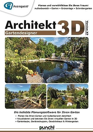 Architekt 3d X9 Gartendesigner Fotorealistische Gartenplanung Für