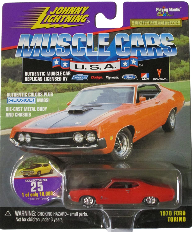Amazon com: Johnny Lightning Muscle Cars USA - Burnt Orange