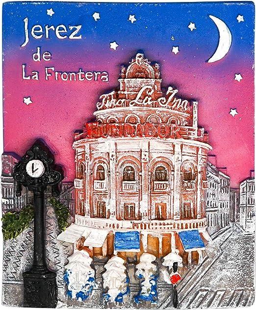 zamonji Jerez de la Frontera, Souvenir de España | 3D Imanes para ...