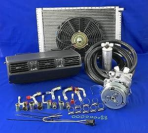 A/C-KIT-Universal-Under-Dash-Evaporator-Compressor-KIT-AIR-Conditioner 404-1-12V W/Electrical Harness …