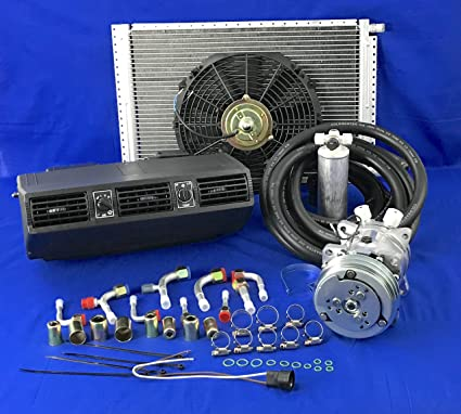 Amazon com: A/C-KIT-UNIVERSAL-UNDER-DASH-EVAPORATOR-COMPRESSOR-KIT