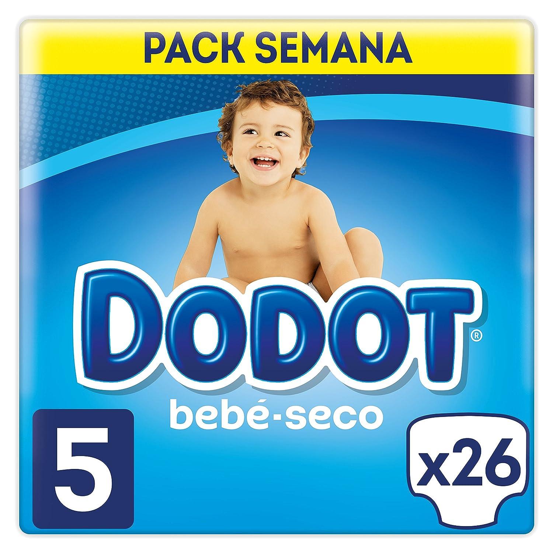 Dodot Bebé-Seco Pañales con Canales de Aire Talla 5, 11-16 kg - 26 Pañales: Amazon.es: Amazon Pantry