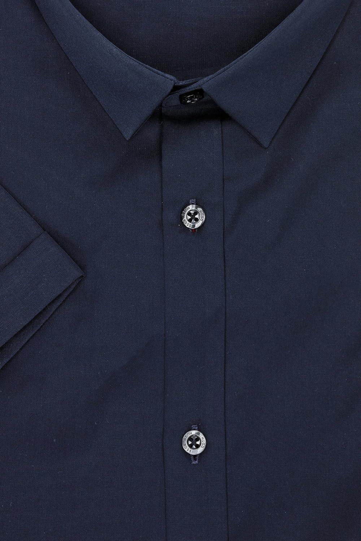 Hugo Boss Red Empson Extra Slim Fit Navy Shirt
