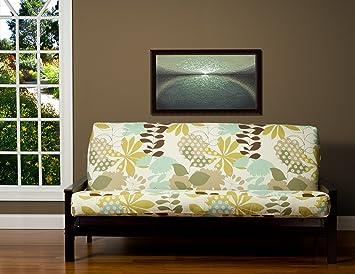sis cover english garden futon cover fabric  removable futon cover fabric only  futon frame amazon    sis cover english garden futon cover fabric  removable      rh   amazon