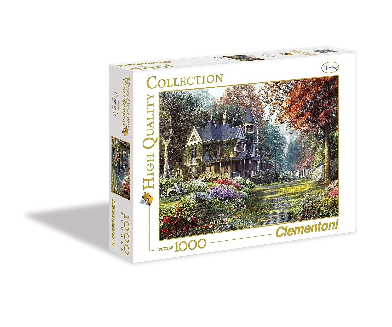 Clementoni Puzzle de piezas Victorian garden