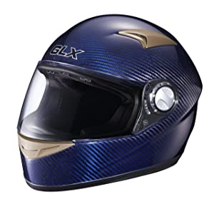 GLX Carbon Full Face Motorcycle Helmet