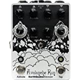 EarthQuaker Devices Avalanche Run Stereo Delay Reverb Limited Edition Black and White
