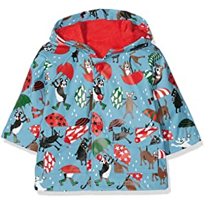 Hatley Infant Raincoat-Raining Dogs, Manteau Bébé Garçon